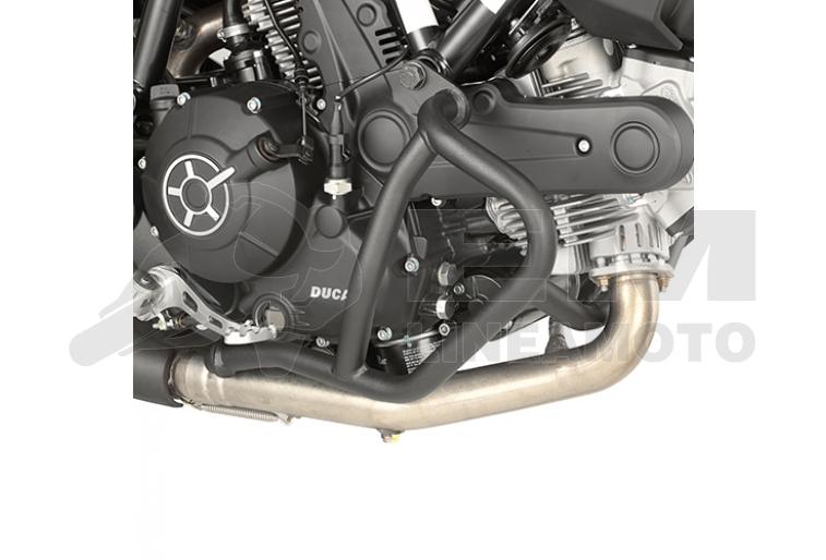 Tn7407 Givi Paramotore Tubolare Nero Ducati Scrambler 400800 Ebay